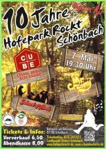 """10 Jahre """"Hofepark rockt weiter"""" in Schönbach/ OL @ Hofepark"""