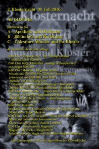 Klosternacht Programm